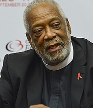 Reverend Edwin Sanders, the senior pastor and founder of the Metropolitan Interdenominational Church in Nashville, Tenn., said that supporting positive dialogue about healthcare is a part of the faith tradition. This photo was taken during a panel discussion on the role of faith leaders in fighting the AIDS epidemic during the 2017 CBCF Annual Legislative Conference in Washington, D.C. (Freddie Allen/AMG/NNPA)
