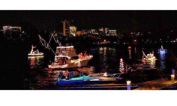 The yuletide fun continues in Richmond this weekend with the 25th Annual James River Parade of Lights in which boaters ...