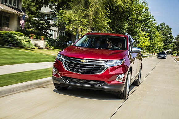The 2018 Chevrolet Equinox is part of the automaker's effort to provide smaller but more powerful engines to get better ...