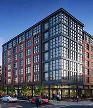 A new boutique hotel, SOPHY, is currently under construction in Hyde Park and scheduled to open in summer 2018. The hotel will offer a full bar, restaurant, room service, and a fitness center. Photo courtesy of SOPHY.