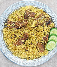 """Most historians and linguists trace the origins of plov to an Indian dish similar to what is now called pulao, based on the Sanskrit """"pulaka."""" Thanks to mother Russia acting as a culinary conduit, the popularity of plov has spread throughout the former USSR."""