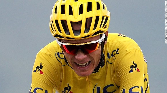 The world's best cyclist Chris Froome has asthma -- and he recently failed a drugs test in one of the ...