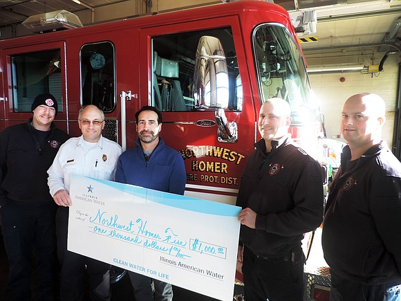 The Northwest Homer Fire Protection District will be purchasing new Personal Protective Gear for firefighters thanks to a grant from ...