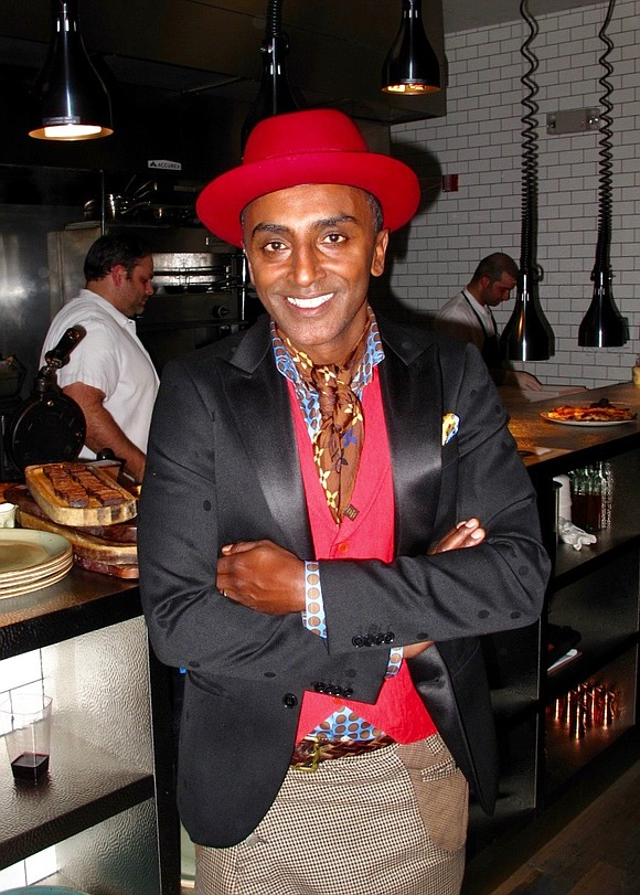Christmas came early for chef restauranteur Marcus Samuelsson and his team with a new restaurant in Newark, N.J., and the ...