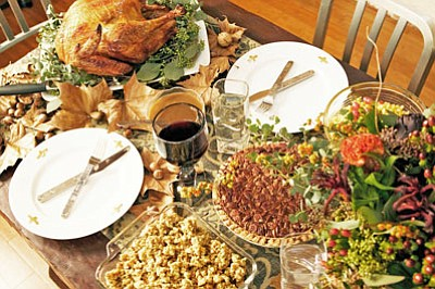 Holiday tables are loaded with traditional, family-favorite foods. Remarkably, it is the time of the year when the most calories ...