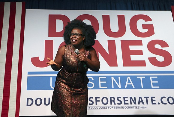 Once again, black women showed up for Democrats, with nearly all of them voting in Alabama for new Sen. Doug ...