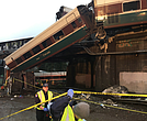 Amtrak train wreck outside Seattle