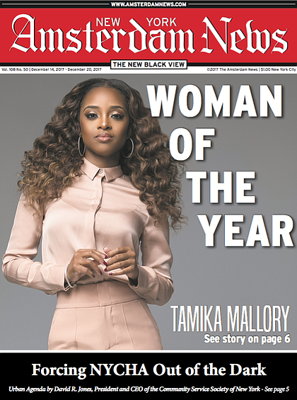 To purchase our Woman of the Year special edition featuring Tamika Mallory please contact our circulation department at 212-932-7400.