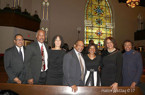 A funeral was held this week for late Golden Krust founder Lowell Hawthorne. Pictured here is State Sen. Yvette Clarke ...