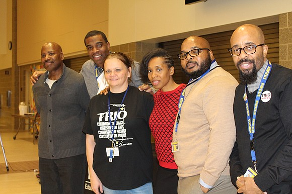 "The TRIO Joliet Central Talent Search Program hosted their ""Fall Semester Recap & Program Celebration"", on Thursday, December 14, at ..."