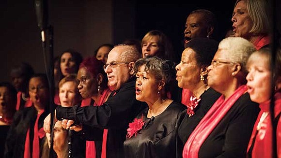 The New England Conservatory Millennium Gospel Choir performed its 11th annual Christmas concert at the Museum of Fine Arts, Boston ...