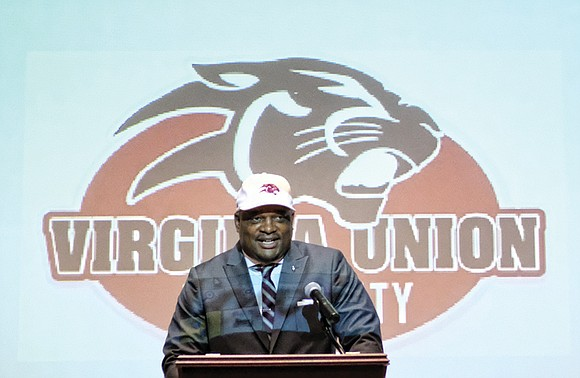 Alvin Parker didn't need much in the way of a formal introduction Monday as Virginia Union University's new football coach.