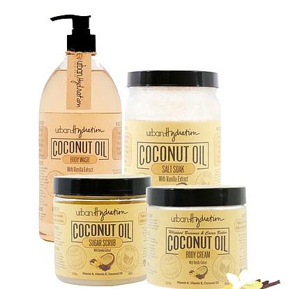 Urban Hydration Coconut Oil & Vanilla Bean