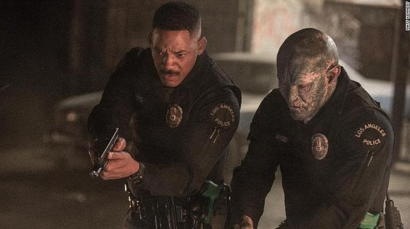 """Bright"" is a bloated, expensive mess, a Netflix movie with blockbuster aspirations and faerie-sized brains. Loud, derivative and thoroughly unexciting, ..."