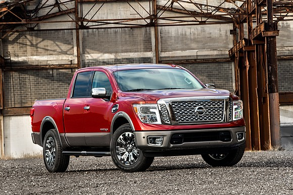 Strictly business is the first thought that came to mind during the week-long test drive of the 2017 Nissan Titan ...
