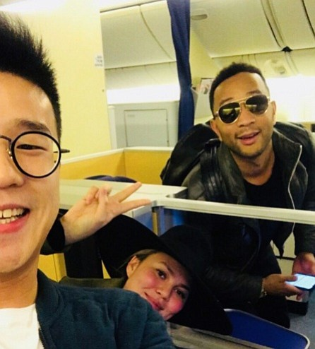Chrissy Teigen and other Tokyo-bound passengers ended up right where they started after eight hours of flying: Los Angeles.