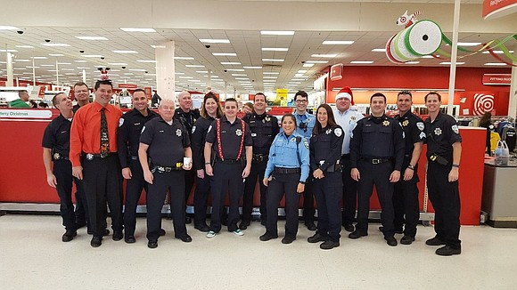 The Plainfield Police Department held its annual Shop With A Cop event at the the Target store on Route 59 ...