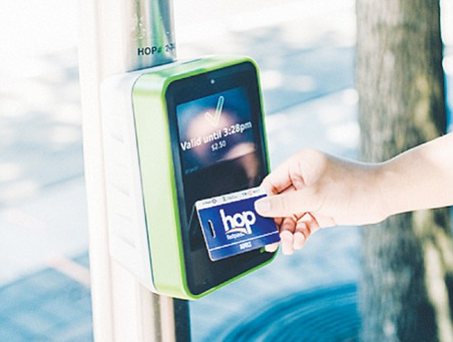 As TriMet expands its electronic fare system, retailers will soon shift to selling Hop Fastpass cards only, no longer selling ...