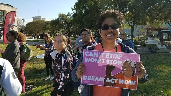 Texas 'dreamers' expressed their disappointment that the U.S. Congress will start its winter recess without addressing the situation of beneficiaries ...
