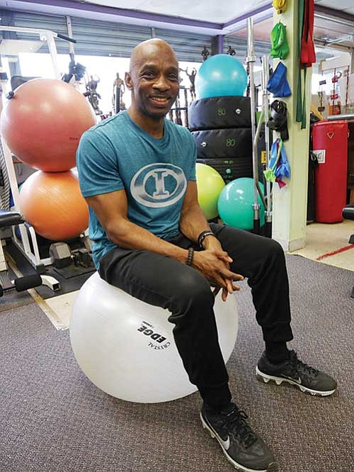 Joe Sumrell of Inside Out Fitness Concepts.