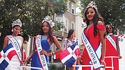 Queens in the 2017 Dominican Festival parade.