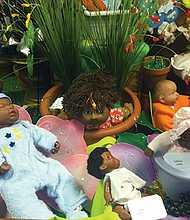 A Cabbage Patch Kids with Foster Care exhibit.