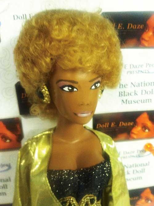 Doll of Whitney Houston.
