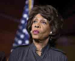 California Congresswoman Maxine Waters sent a message of support to Robert Mueller, the...