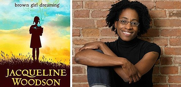 Author Jacqueline Woodson, whose professional accolades include a National Book Award (Brown Girl Dreaming), four Newbery Honors (Brown Girl Dreaming, ...