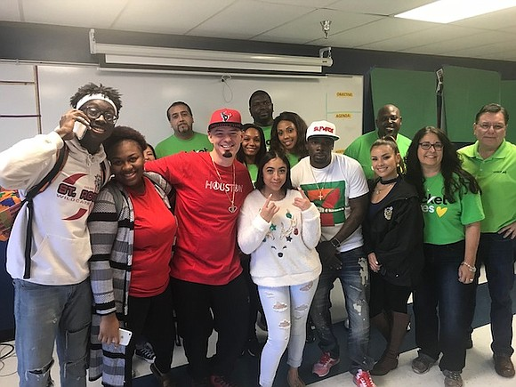 "Three local college-bound students classified as ""homeless"" due to Hurricane Harvey were surprised by Houston celebrities who gave each student ..."