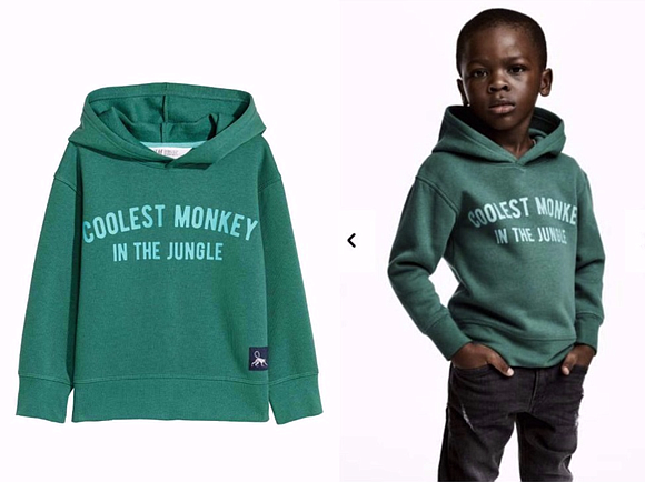 The NAACP condemns the recent advertisement by H&M, which pictured a young Black child wearing a hooded sweatshirt with the ...