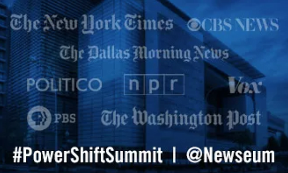"NABJ President Sarah Glover is among the journalists participating in ""The Power Shift Summit"" today at the Newseum. Numerous NABJ ..."