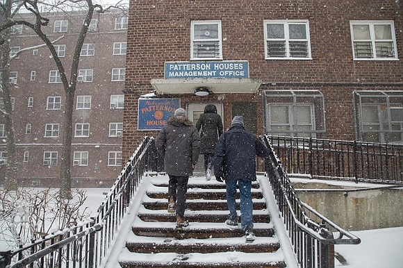 Thousands of families didn't have heat or hot water in public housing last winter and Mayor Bill de Blasio promised ...