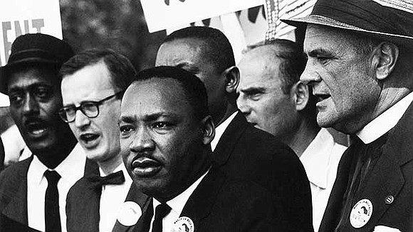 A listing of key events in the life of Dr. Martin Luther King, Jr.