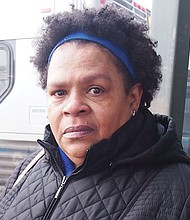 That would be good. She's a tough lady. I think she'd do things right, unlike the guy who's there now. —Genevieve Diggs, Retired, Roxbury