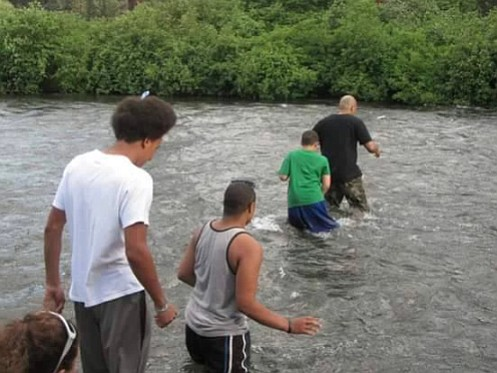 "Outdoor excursions in the central Oregon area around Bend provide mentoring and recreation opportunities for at-risk youth as part of the ""Unify Portland, Living Free"" program born through the Community Peace Collaborate, Portland's anti gang effort."
