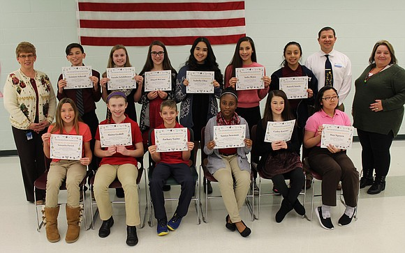 The Shorewood Lions Club recognized Troy Community School District 30-C November Students of the Month at the school district's December ...