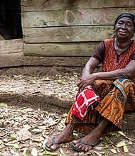 Ghanaian farmer Yaa Konadu