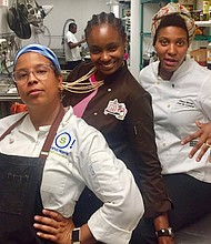 Ladies Night with Chefs Baylor and Mintor