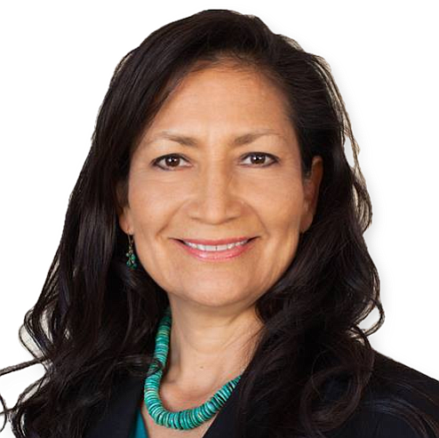"""Deb Haaland has a strong track record of standing up for Democratic values and the people of New Mexico. She ..."