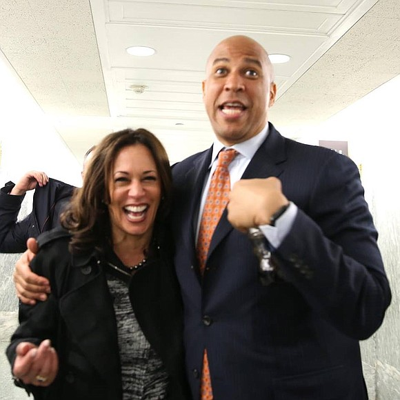 Sens. Kamala Harris (D-Calif.) and Cory Booker (D-N.J.) were appointed to the Senate Judiciary Committee. This is only the second ...