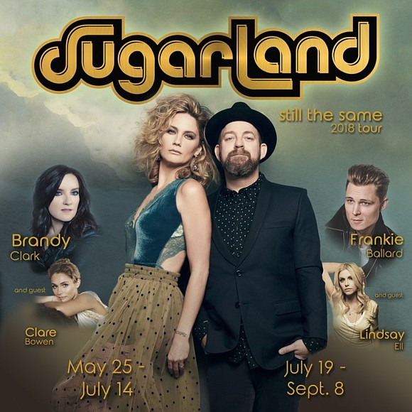 "The award-winning Country duo Sugarland will make their highly anticipated return to the stage this summer with the ""Still the ..."
