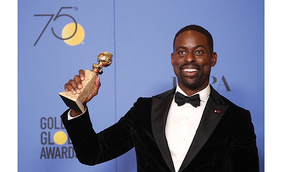 Actor Sterling K. Brown made history Sunday night when he won the Golden Globe trophy for best actor in a ...