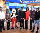 From L to R: MICKEY MOUSE, TRACEY POWELL, AYANNA ADAMS, CHRISTIANA OKAFOR, MARQUIS