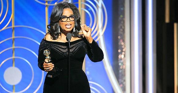 Oprah Winfrey's DeMille Award acceptance speech