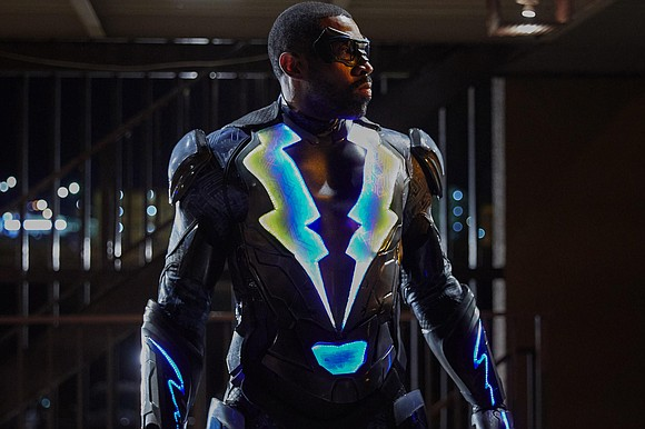 "The CW is introducing its first African-American superhero and he is fully charged and ready to strike. ""Black Lightning"" makes ..."