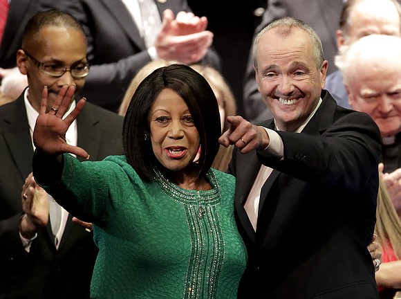 Former Wall Street executive Phil Murphy succeeded Chris Christie as New Jersey's governor Tuesday, swearing his oath on the same ...