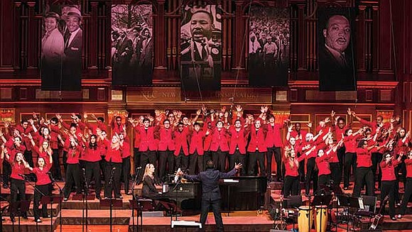 On Monday, Jan. 15, Boston Children's Chorus performed their 15th annual tribute to Dr. Martin Luther King Jr., for the ...