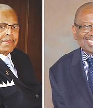 Rev. Dr. LeRoy Haynes (left) and Rev. Dr. T. Allen Bethel