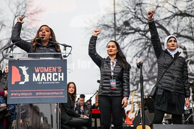 Women's March 2018: Celebrities show solidarity for women's rights
